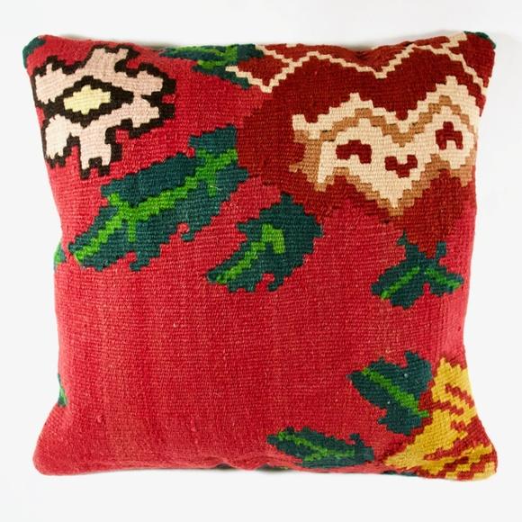 Caria Other - Handmade Kilim Pillow // Decorative // Vintage